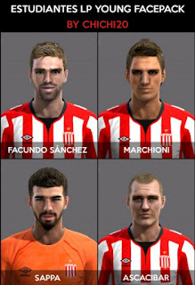 Faces: Ascacibar, Facundo Sanchez, Julian Marchioni, Sappa, Pes 2013