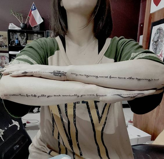 5080593b4 50 Must Try Arrow Tattoos For Men and Women (2018) | Tattoo Ideas