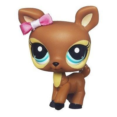 Littlest Pet Shop Mommy And Baby Deer 3583 Pet Lps Merch