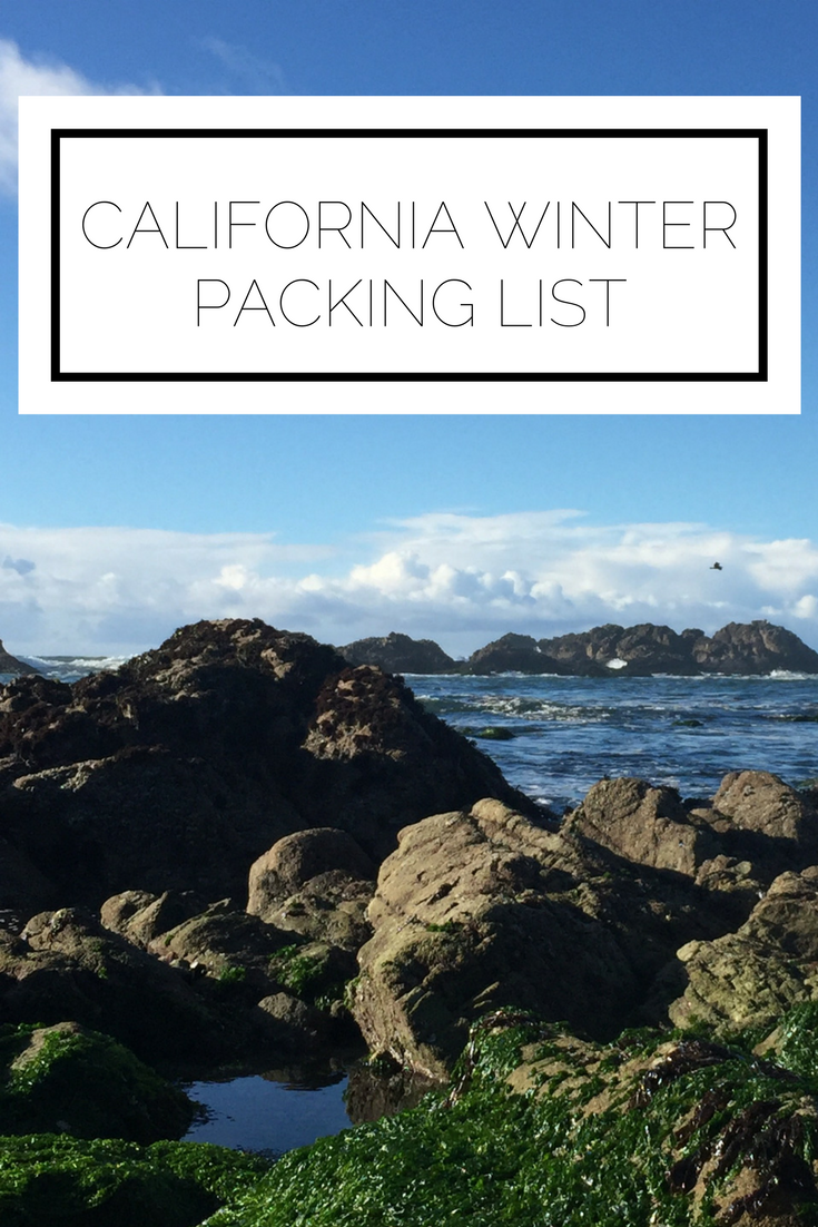 Click to read now or pin to save for later! Heading to California in the winter? Find out exactly what should be on your packing list and in your suitcase