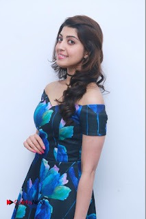 Actress Praneetha Latest Stills in Floral Short Dress at Enakku Vaaitha Adimaigal Press Meet  0007.jpg