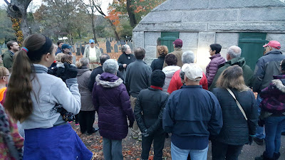Twilight Tour of the Old Burying Ground