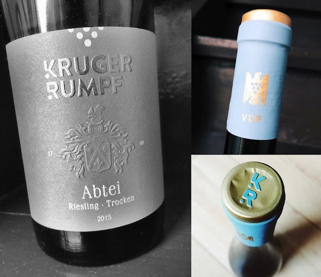 Abtei Riesling aus dem Weingut Kruger-Rumpf an der Nahe