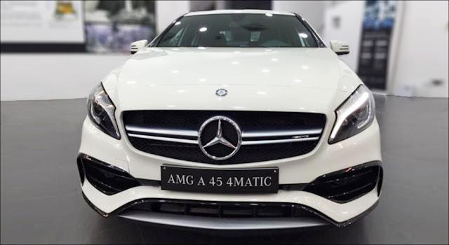 Ngoại hình Mercedes AMG A45 4MATIC 2019 thiết kế táo bạo