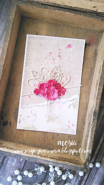 różowy bukiet / a pink bouquet