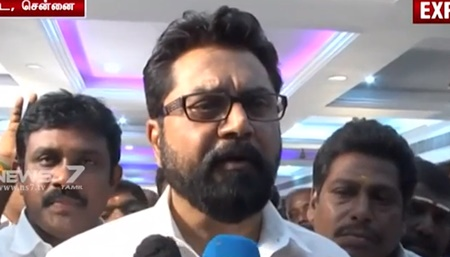 There is no over interest in cinema industry: Sarath Kumar
