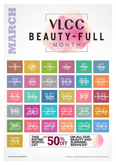 "VLCC celebrates 'womanhood': Launches ""The Beauty-Full Month"" campaign"
