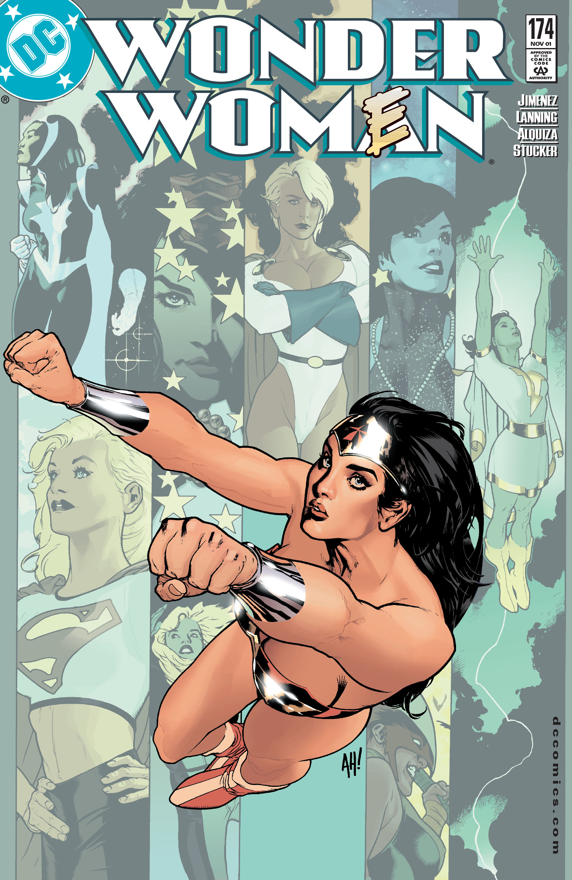 Read online Wonder Woman (1987) comic -  Issue #174 - 1