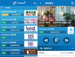 HiNet廣播 App