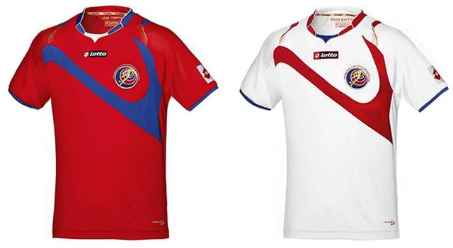 Camisetas selección Costa Rica Mundial 2014