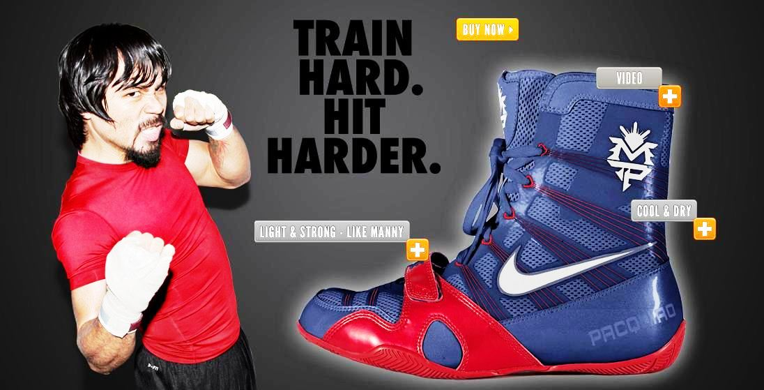 1cfa2ab7f821 Manila Shopper  What Nike Shoes Manny Pacquiao Will Wear on his 4th ...