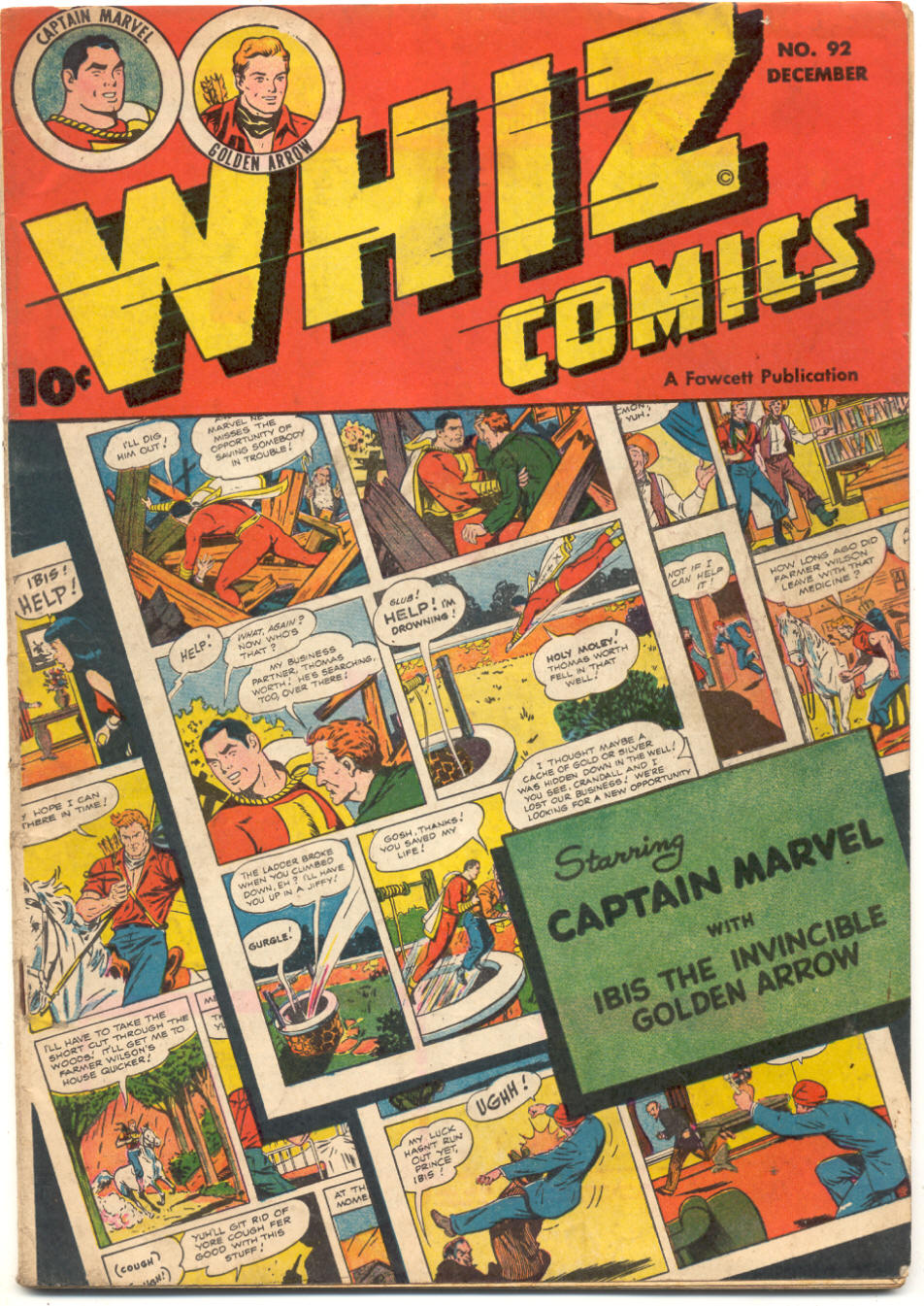 WHIZ Comics issue 92 - Page 1