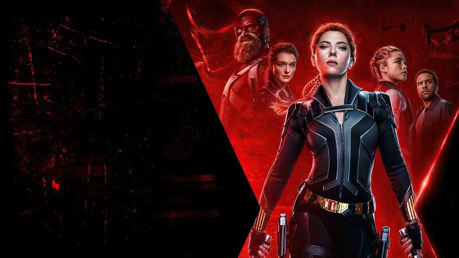 Black Widow, 2020, Movie, Character, Poster, 4K, #7.1575