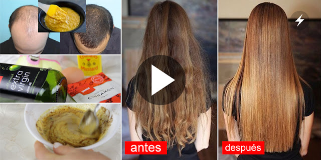 Home DIY - How To Grow And Straight Hair Naturally Very Fast!