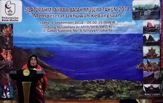 DPD RI Berharap #BatakMuslim Turut Perkuat #PersatuanBangsa #PuncakHaornas2018 #ClosingCeremonyAsianGames2018