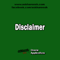 Disclaimer, www.askhareesh.com