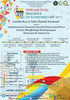 Lomba Karya Tulis Ilmiah Nasional IDE 2017 di Universitas Brawijaya