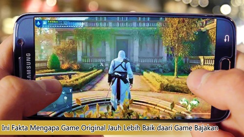 game bajakan vs game original