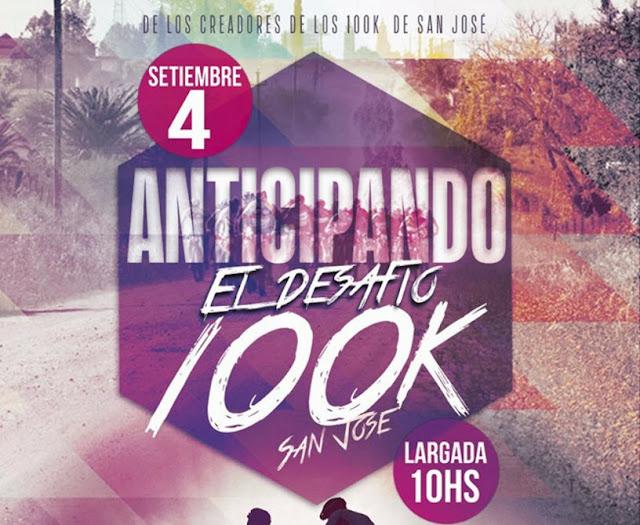 MTB - Anticipando el Desafío 100k en San José (04/sep/2016)
