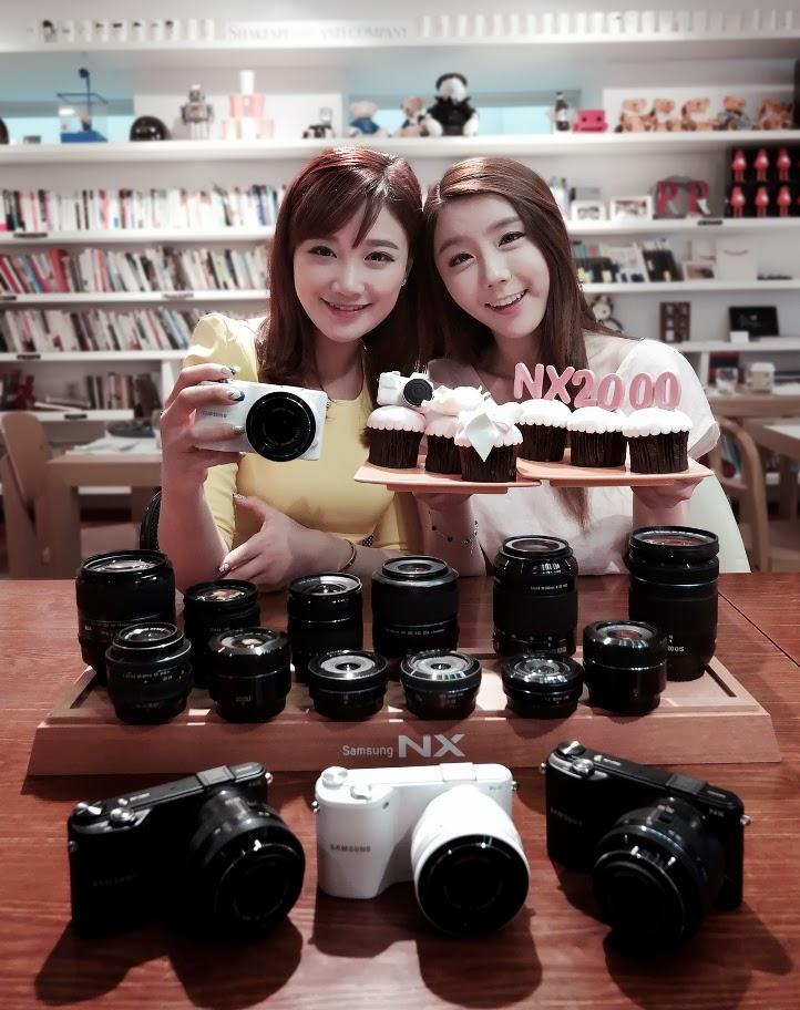 bada Indonesia: Samsung rilis Smart Camera mirroless NX2000