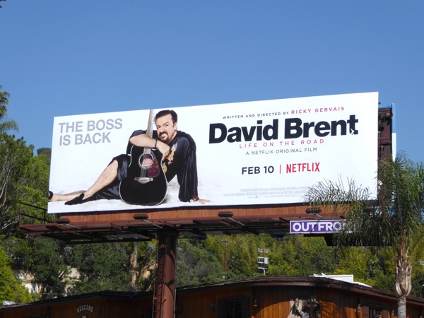 David Brent Life on the Road movie billboard