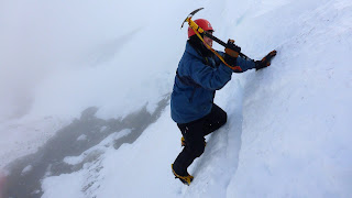 Cairngorm winter skills and winter mountaineering course, Aviemore