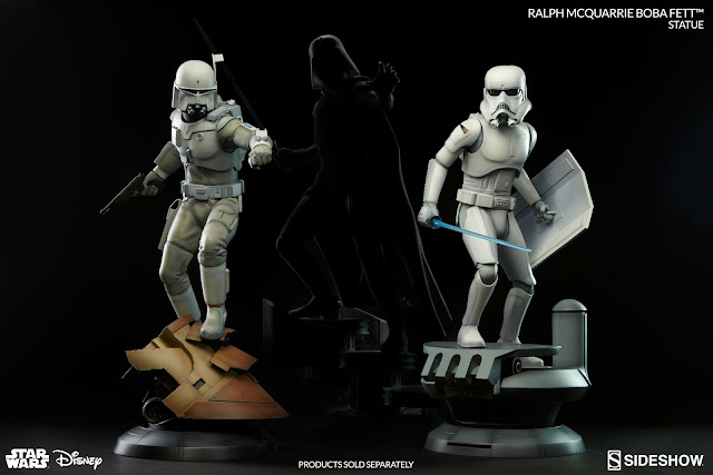 sideshow collectible boba fett ralph mcquarrie