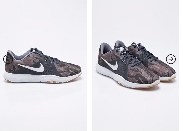 adidasi dama Nike Flex original cu imprimeu modern