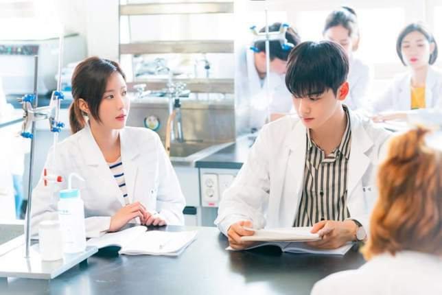 3. Chemistry Spesial yang Ditawarkan Im Soo Hyang dan Cha Eun Woo 'ASTRO'
