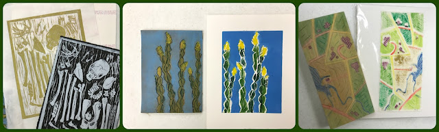 ronna leon printmaking
