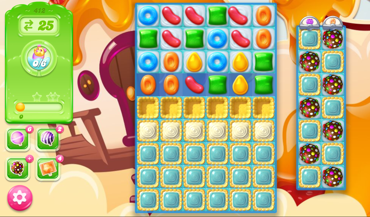 Candy Crush Jelly Saga 412