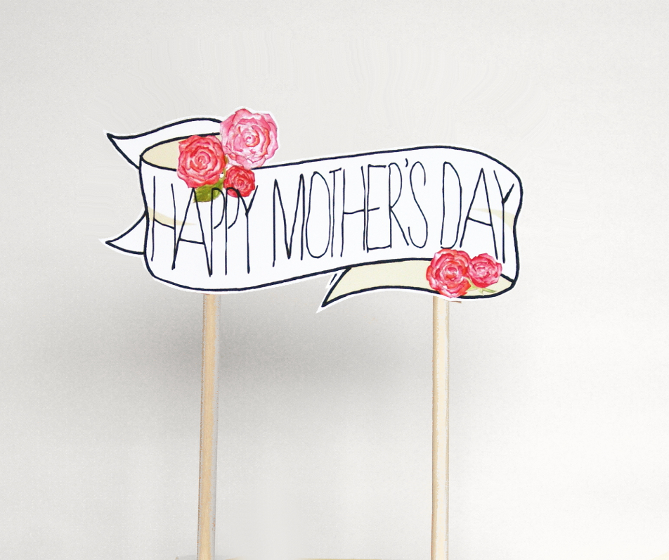 https://www.etsy.com/uk/listing/179269567/mothers-day-cake-topper-floral-banner
