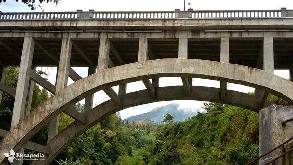 Jembatan Sigandul Dari Bawah
