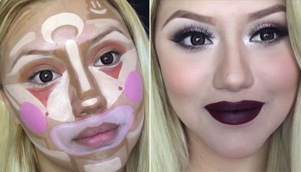 dc7e39a25 ... que verlo en persona, pero creo que realmente es un maquillaje  sobrecargado y poco natural, y que para estar guapa no hay que recurrir a  estos excesos…