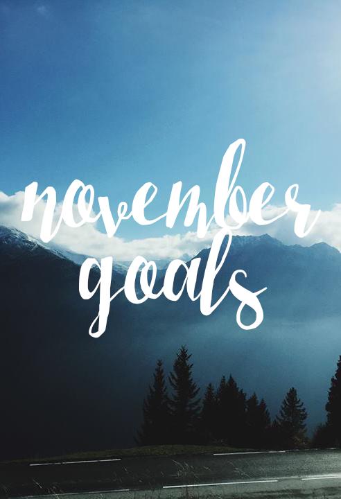 rljlowe | November Goals