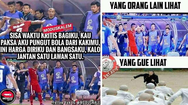 Beberapa Meme Abduh Lestaluhu Ini Cukup Mewakili Kejengkelanmu pada Thailand