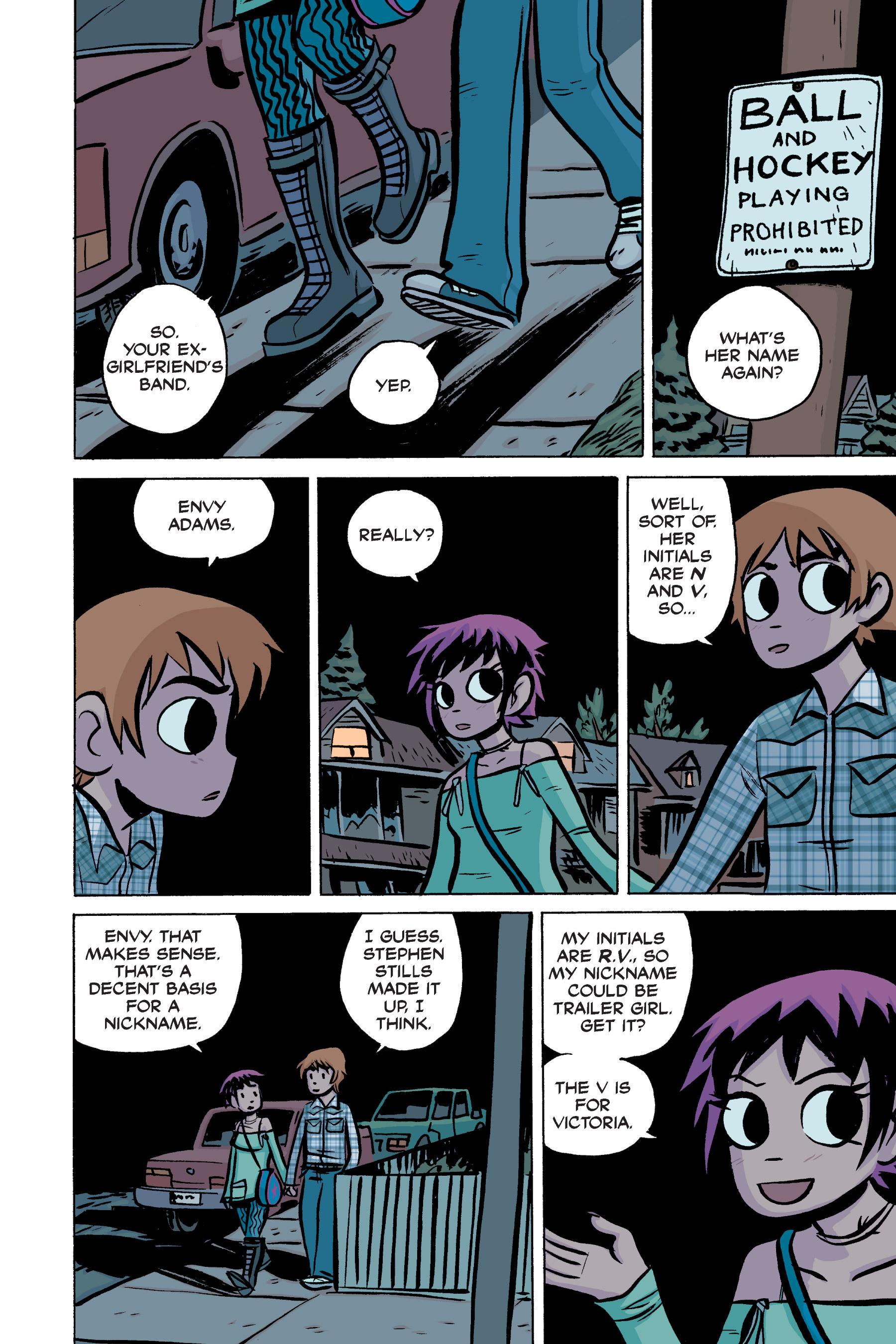 Read online Scott Pilgrim comic -  Issue #2 - 164