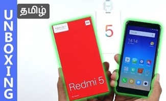 Redmi 5 Unboxing & Camera Samples | Tamil Tech