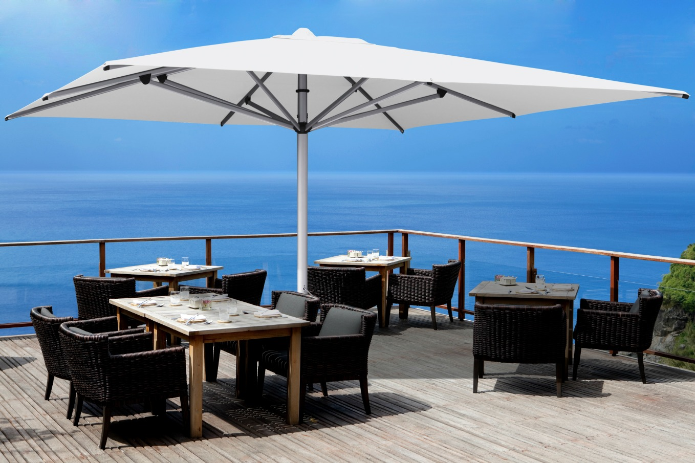 Shadowspec Luxury Umbrella Systems Reasons Why Commercial Outdoor - Commercial table umbrellas