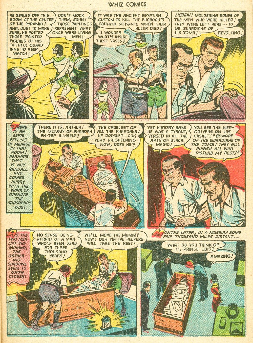 WHIZ Comics #155 #156 - English 23