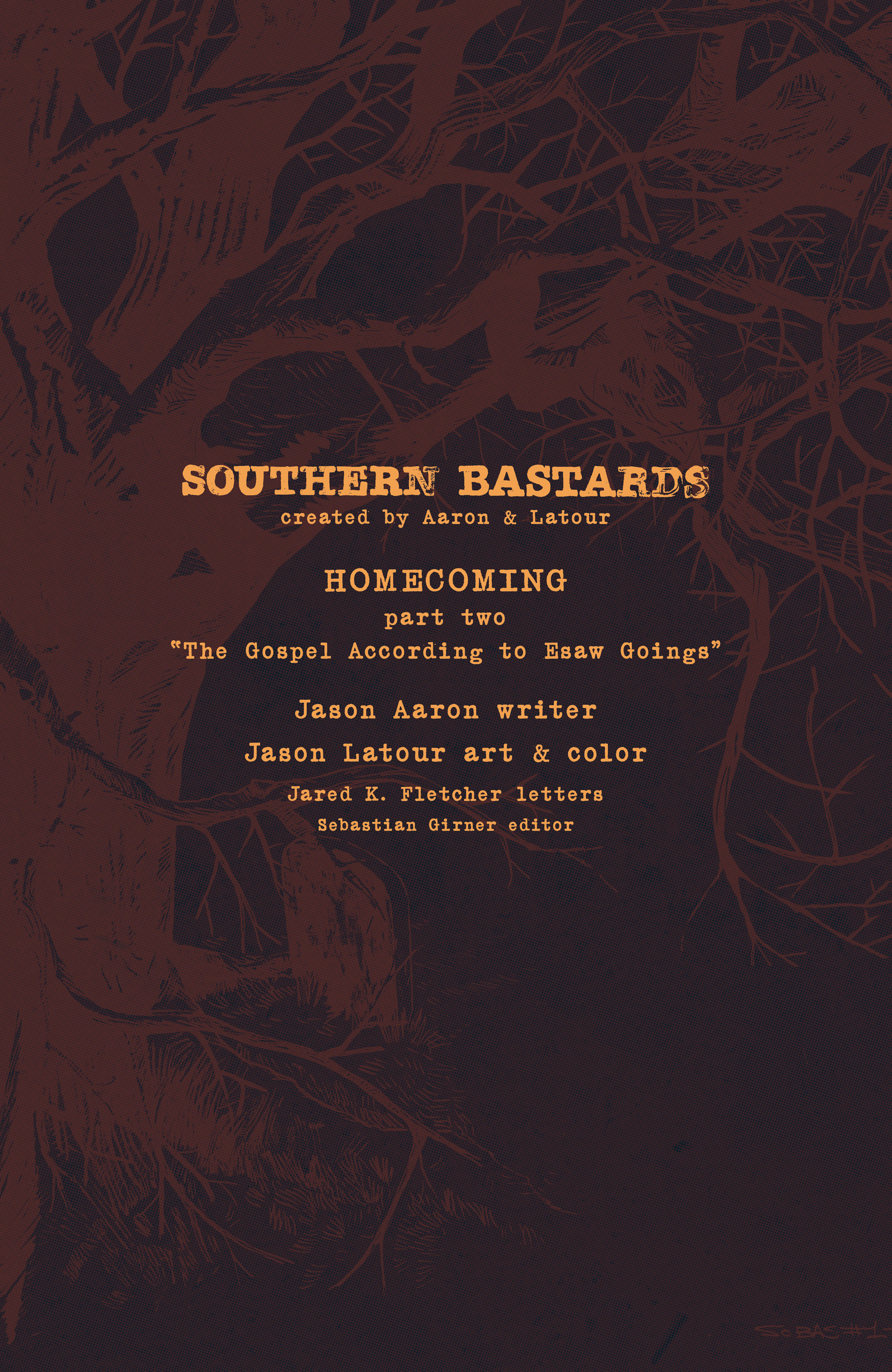 Read online Southern Bastards comic -  Issue #10 - 23