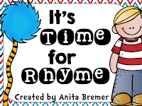 It's Time For Rhyme! {rhyme and alphabet activities}