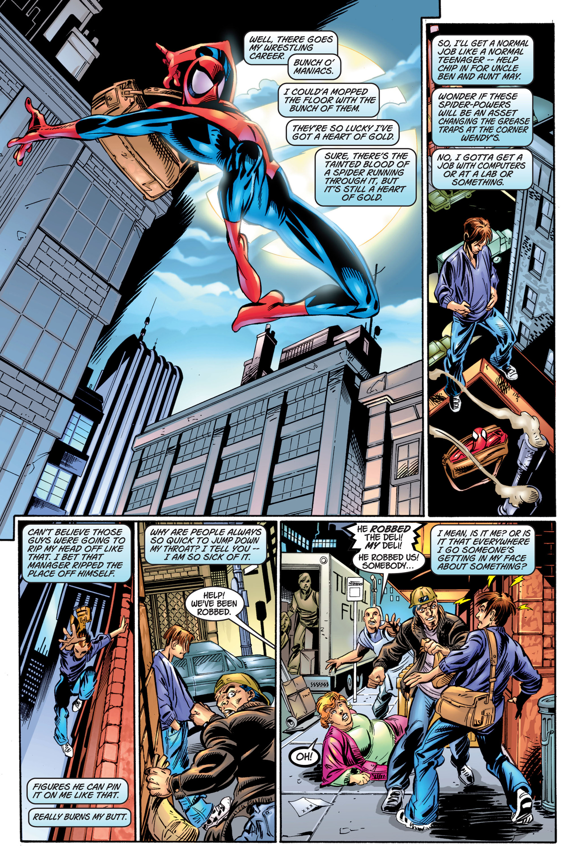 Read online Ultimate Spider-Man (2000) comic -  Issue #4 - 9