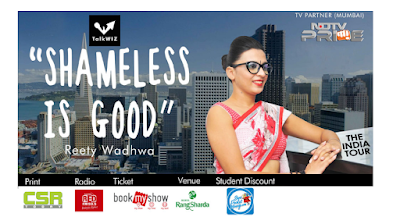 Reety Wadhwa Brings Shameless is Good on NDTV Prime and NDTV Profit