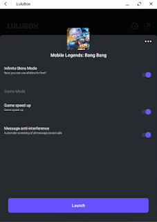 Skin Mobile Legends Gratis Menggunakan Aplikasi Lulubox v1.2.3