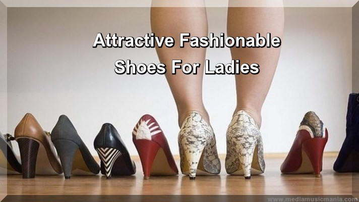 Attractive Fashionable Shoes For Ladies