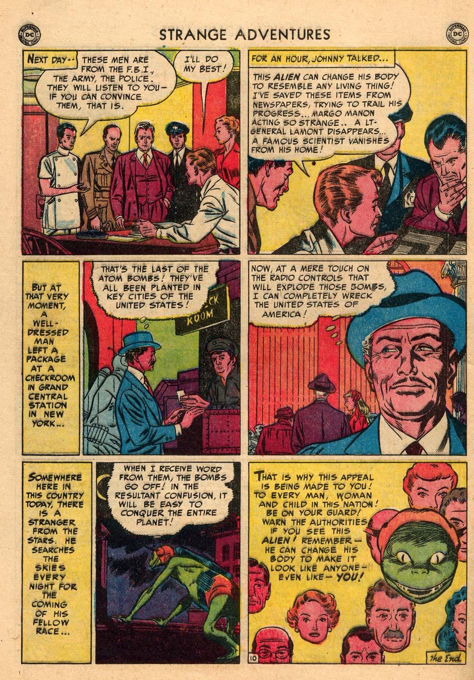 Strange Adventures (1950) issue 3 - Page 48
