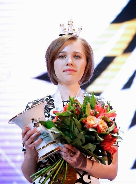 Mariya Muzychuk - Campeona del Mundo de ajedrez