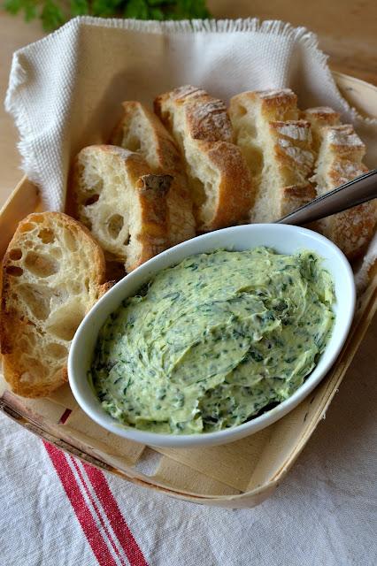 beurre d'herbes du chef Patrick jeffroy