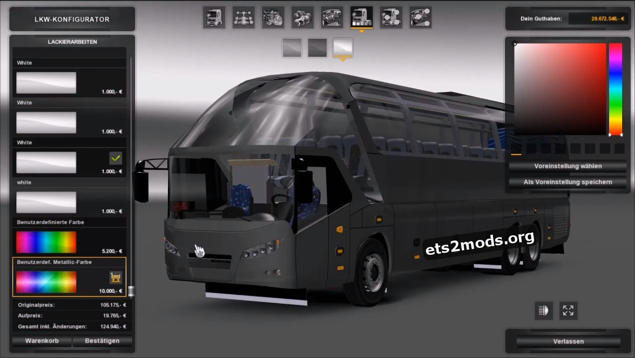 Bus - Neoplan Starliner V 2